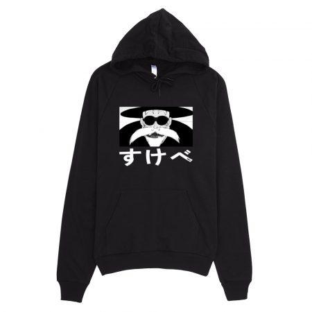 sukebe hoodie black