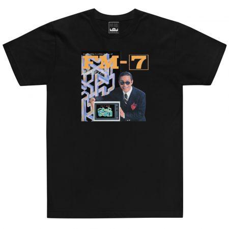 fujitsu fm7_black tshirt